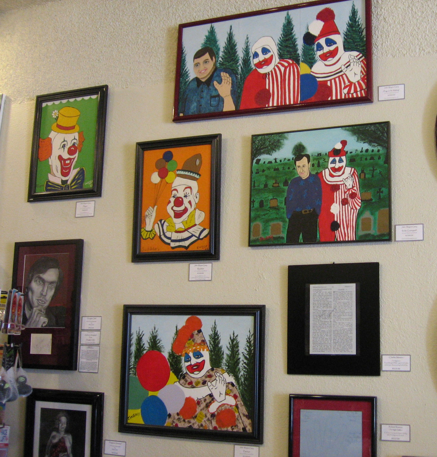 The Strange History Of This John Wayne Gacy Painting – The 13th Floor