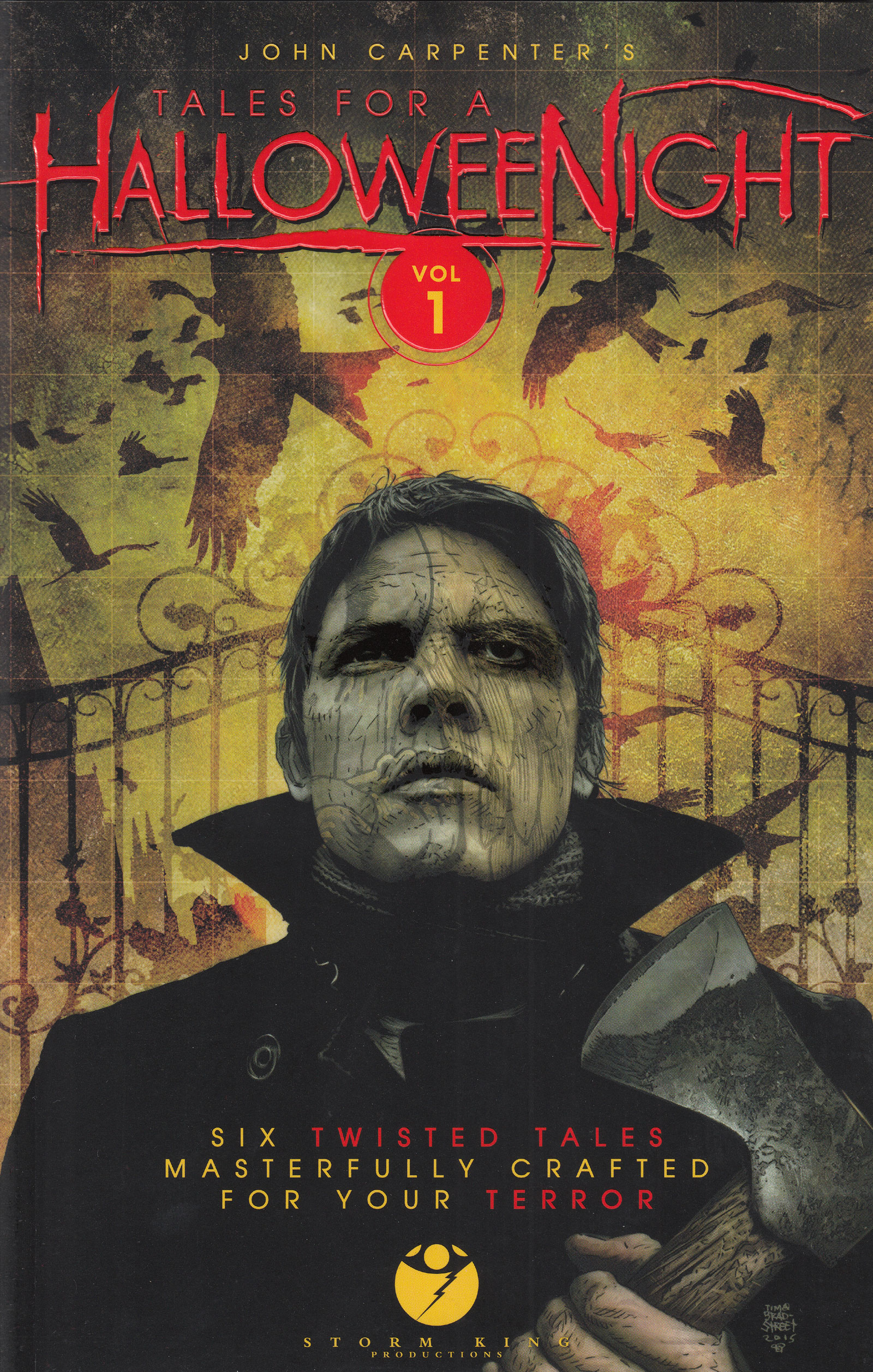 john carpenter releases halloween horror graphic novel! – the 13th floor