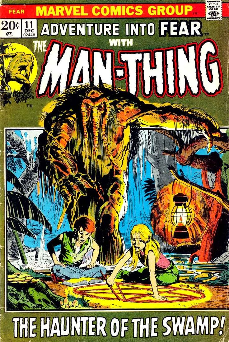 Man-Thing Adventure Into Fear 11