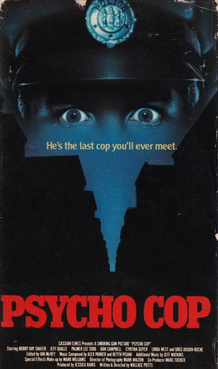 Lost On VHS: PSYCHO COP (1989)
