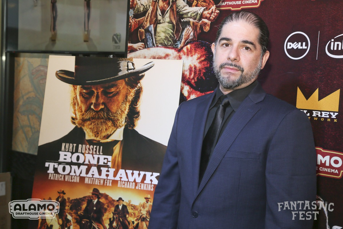 """Bone Tomahawk"" world premiere during Fantastic Fest at the Alamo Drafthouse in Austin, Texas, on Thursday, Oct. 1, 2015. (Photo by Jack Plunkett)"