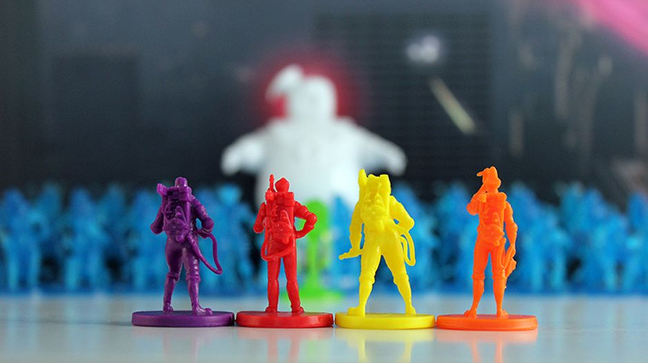 Ghostbusters Board Game Players