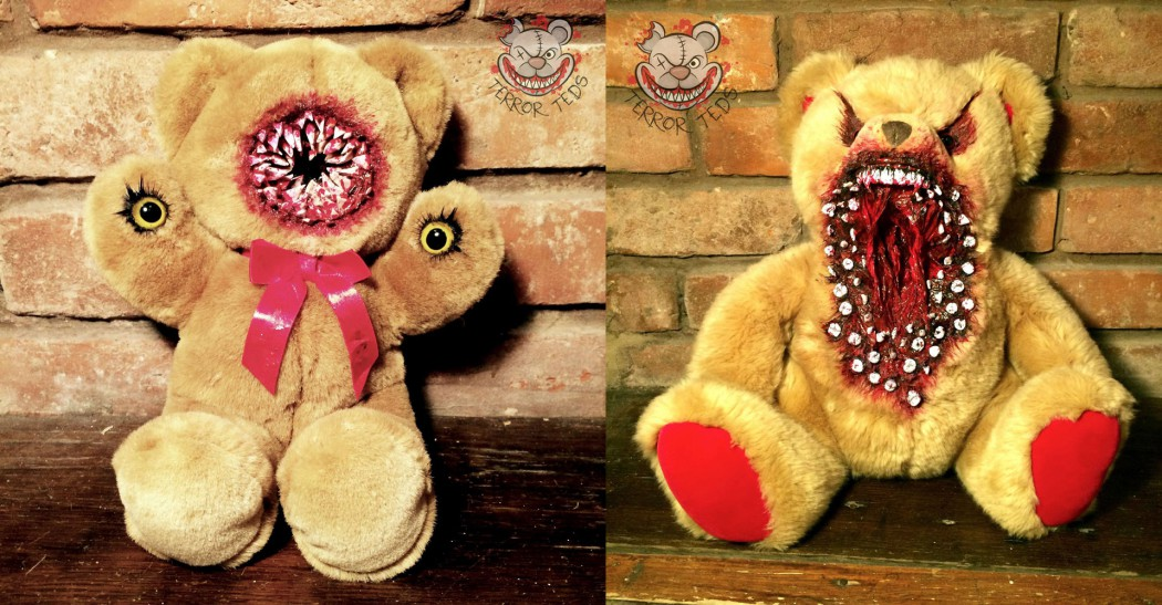 Give The Gift Of Nightmares With These Terror Teds The
