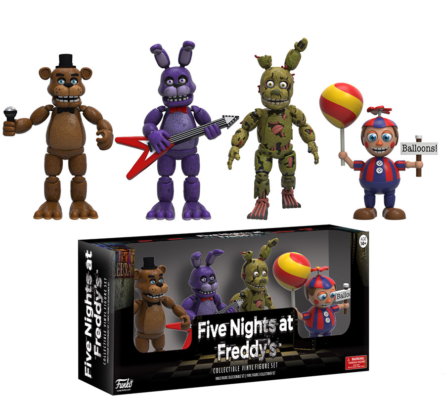 Five Nights at Freddy's Action Figures