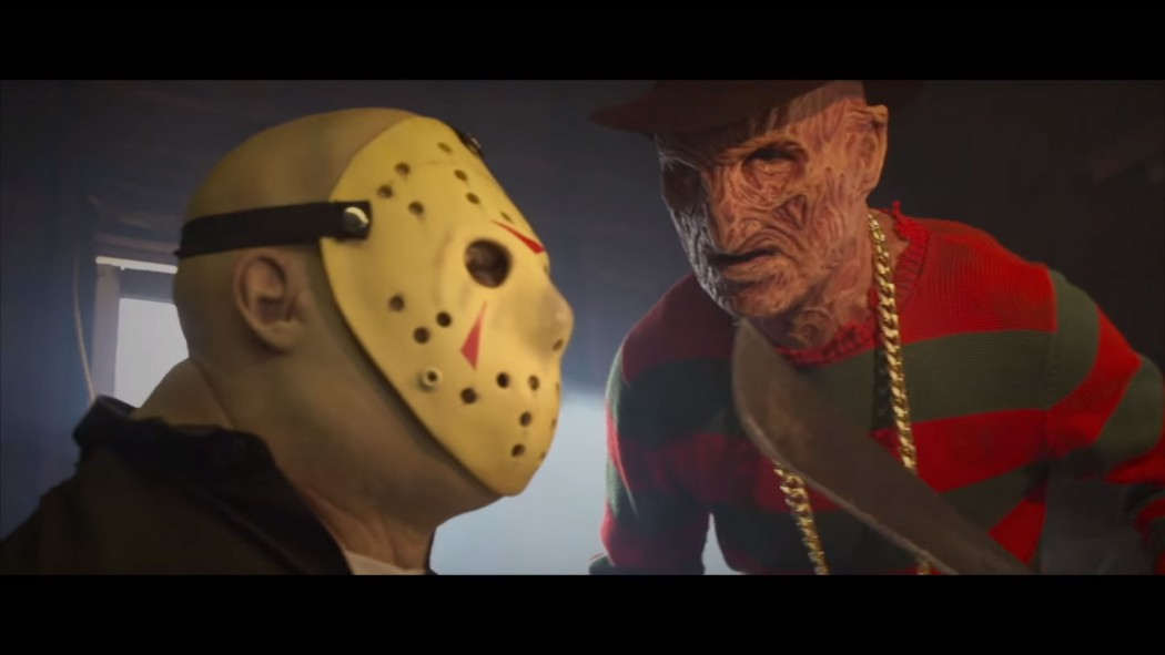 have you ever wanted to see freddy krueger diss rap jason