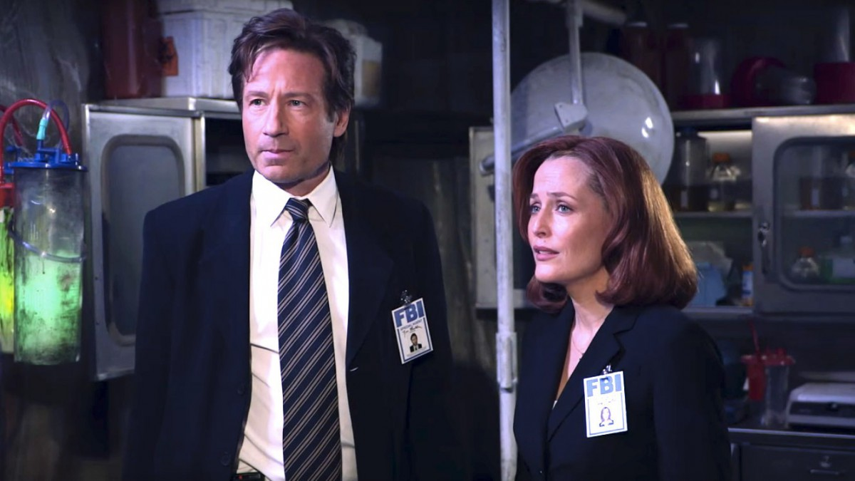 The X-Files Header
