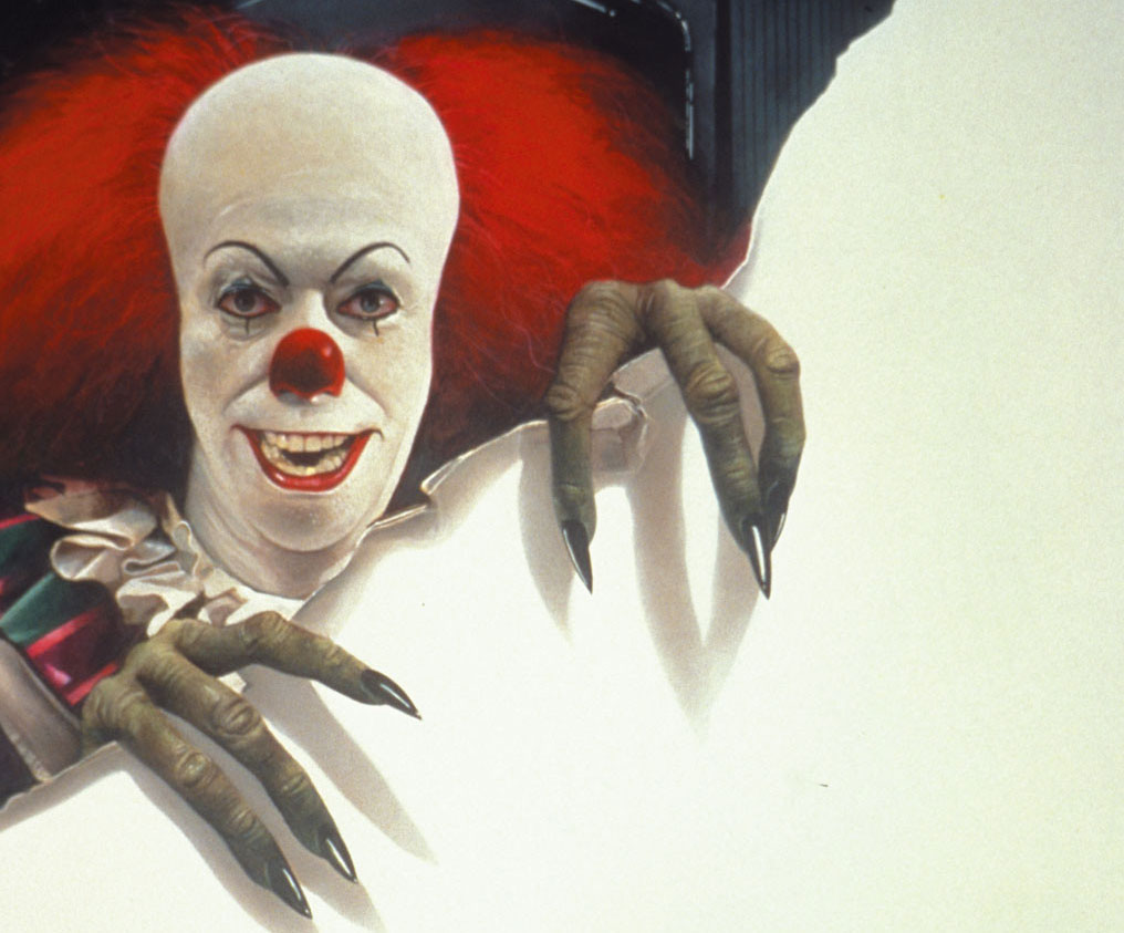 resurrecting it stephen king s killer clown from outer space not long after king s novel was published abc announced that it would air a miniseries adaptation in the fall of 1987 screenwriter lawrence d cohen