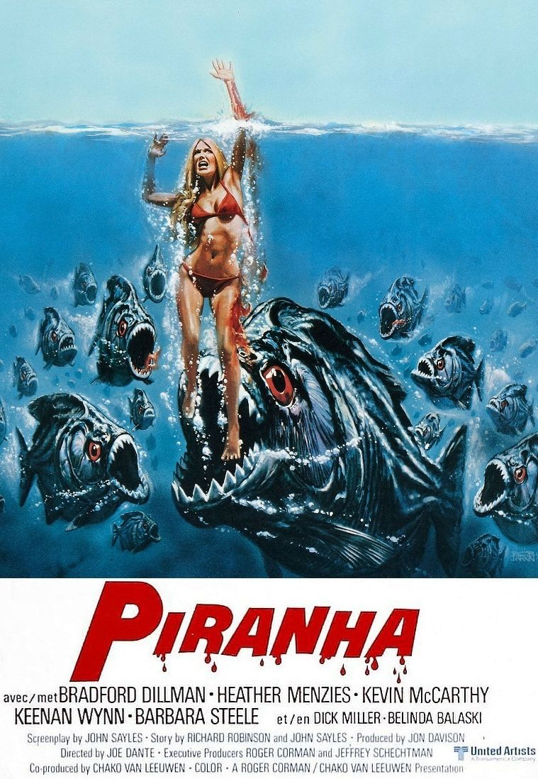 Unwelcome Guests: Dipping Into PIRANHA and LAKE PLACID ...
