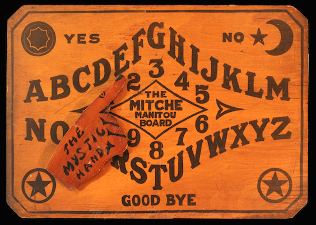 5 Unusual Antique Ouija Boards The 13th Floor