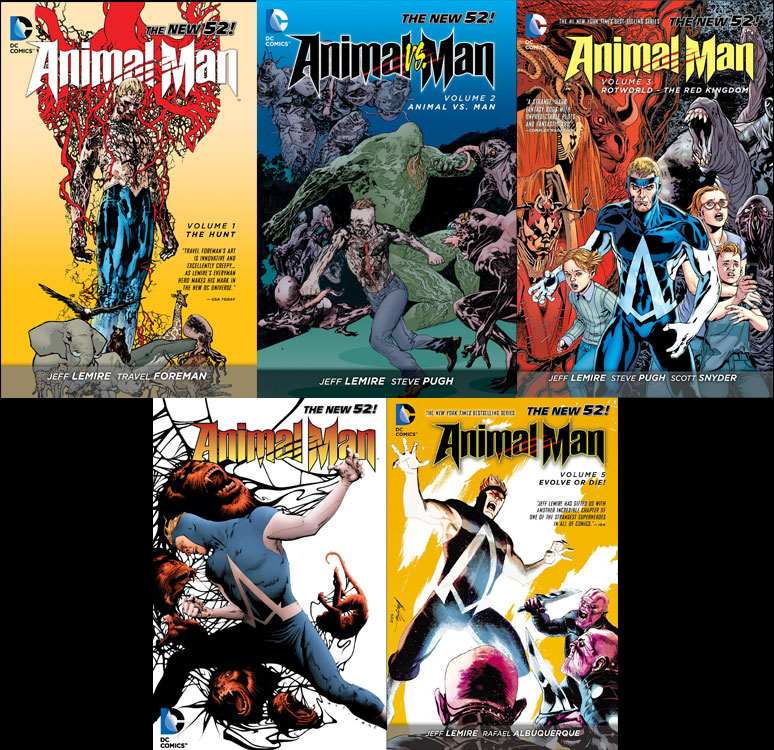 animal-man-cover-collage