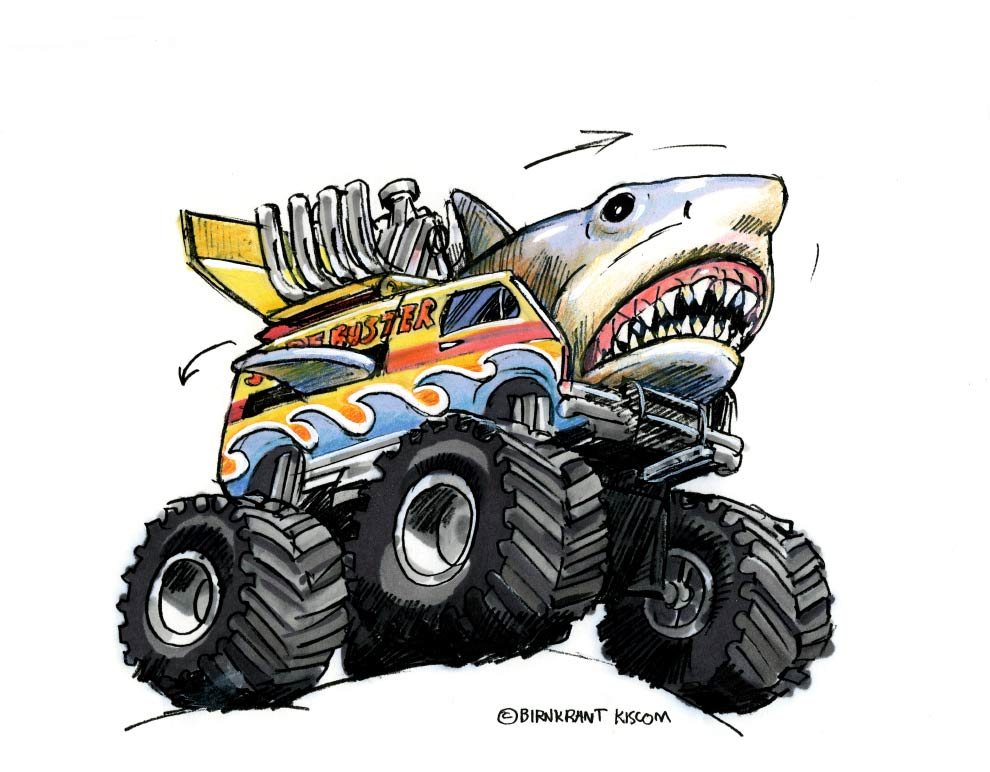 The Awesome Monster Trucks Toy Line That Never Was Blumhouse Com