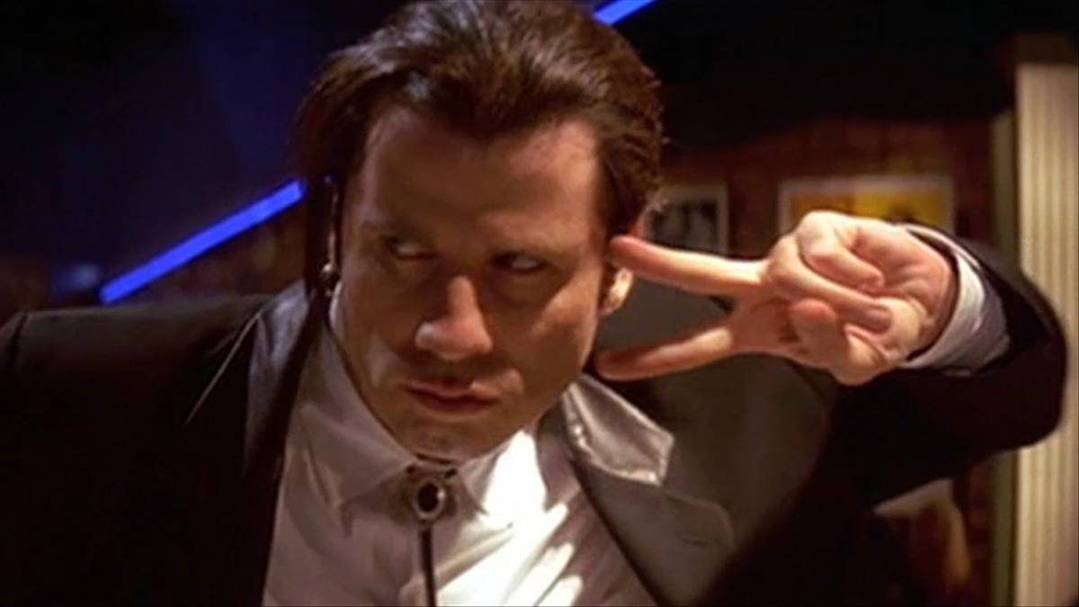Vincent Vega Syndrome: Being calm, cool, and a really swell dancer, unless faced with blood.
