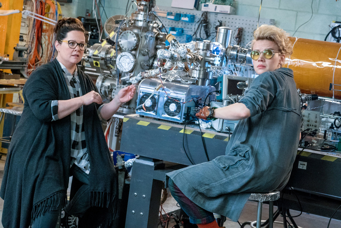 Ghostbusters Scientists