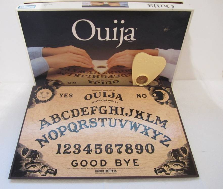 How'd The OUIJA Board Become A Game Marketed To Kids? – The