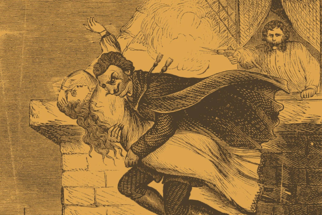 Spring heeled jack the weirdest urban monster in history for 13 floor myth