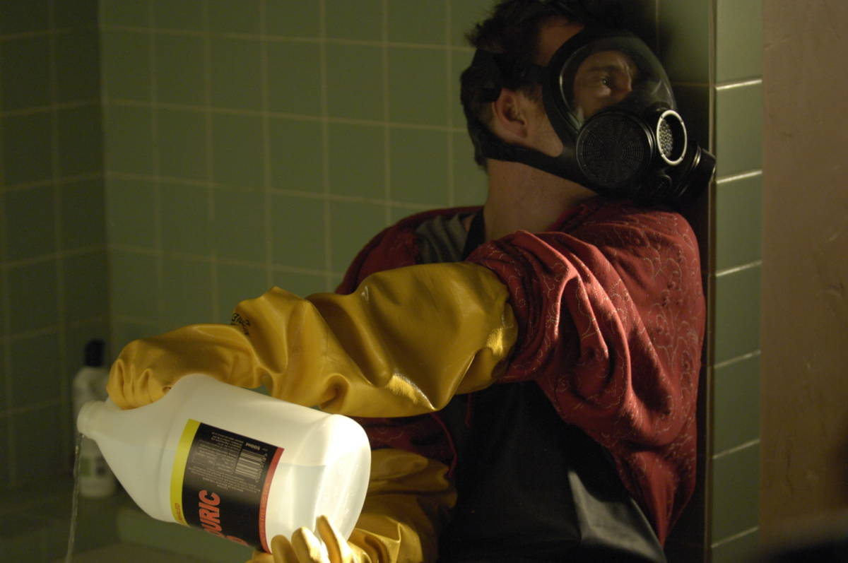 Jesse Pinkman (Aaron Paul) - Breaking Bad - Season 1, Episode 1 - Photo Credit: Lewis Jacobs/AMC