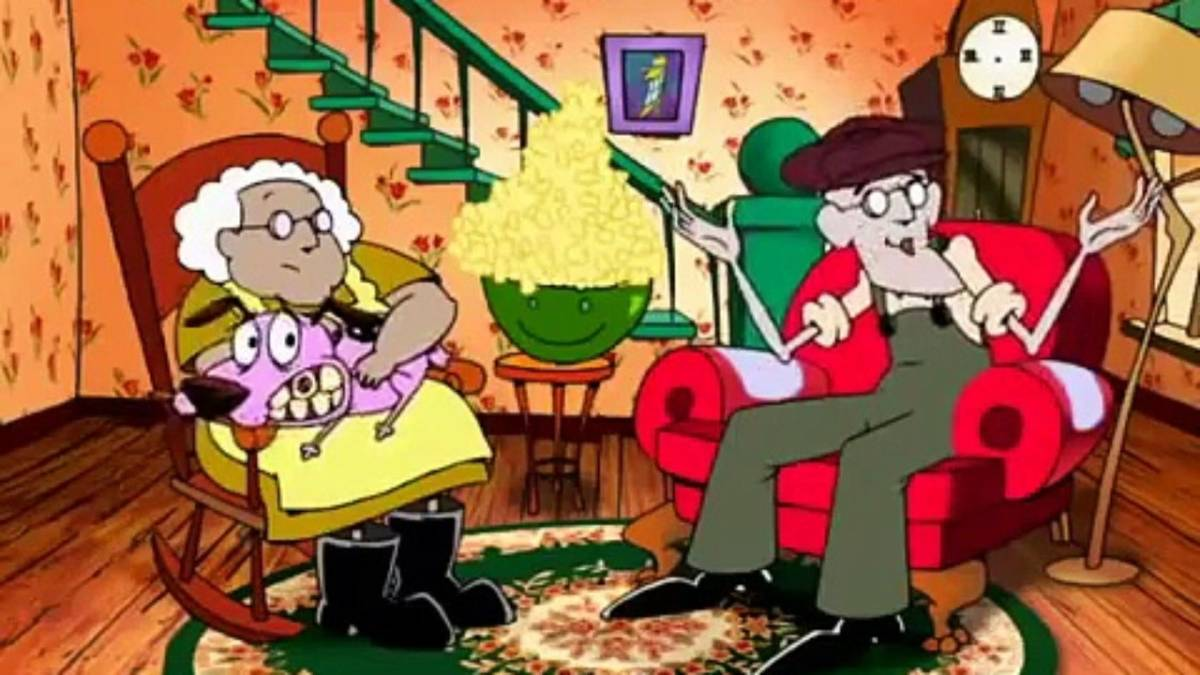 With its LOONEY TUNES style slapstick comedy mixed with a combination of  classical monster horror and surrealistic styled horror, COURAGE THE COWARDLY  DOG ...