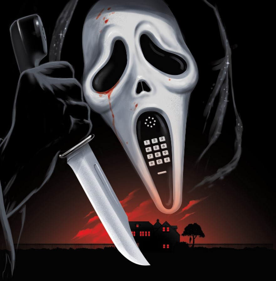 SCREAM vinyl cover art by Gary Pullin