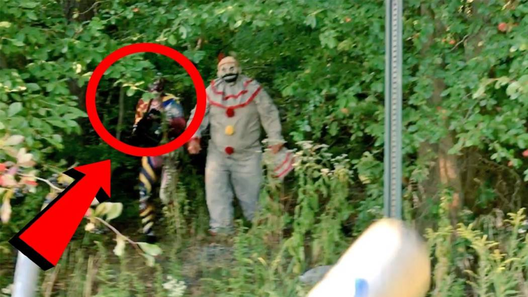 ruin your new year s with these top 10 scariest clown sightings