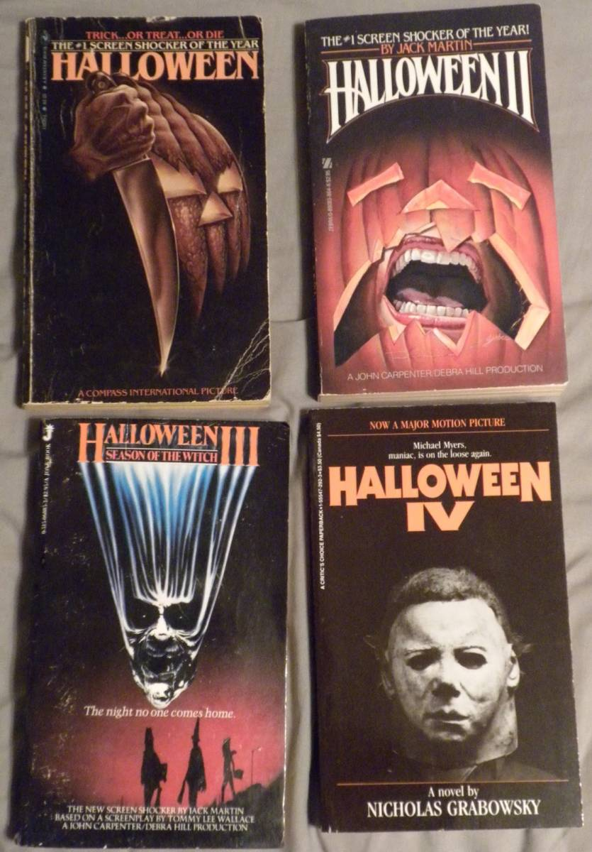 halloween-novelization-set