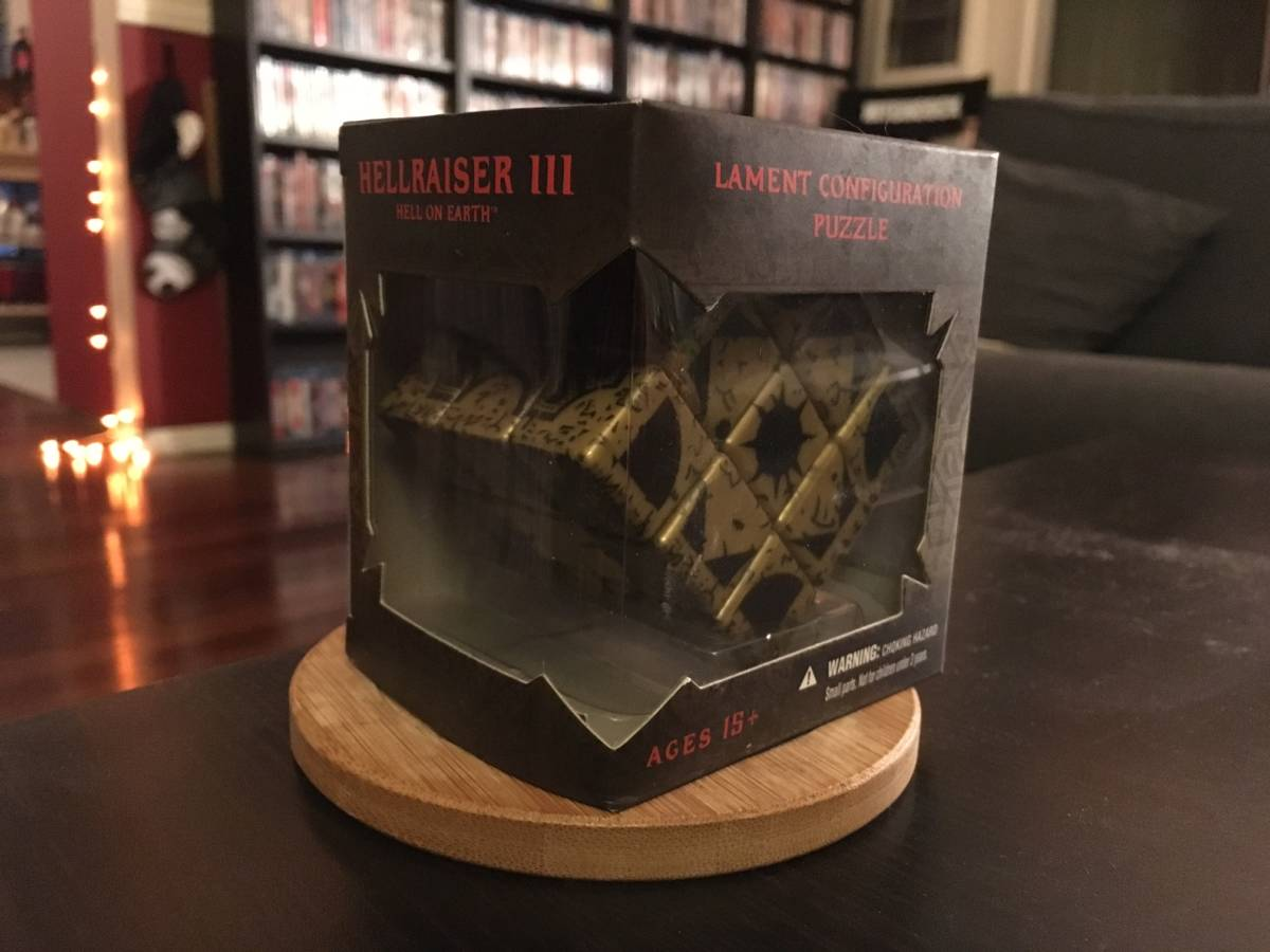 The HELLRAISER Rubik's Cube Puzzle Box Will Tear Your Soul ...