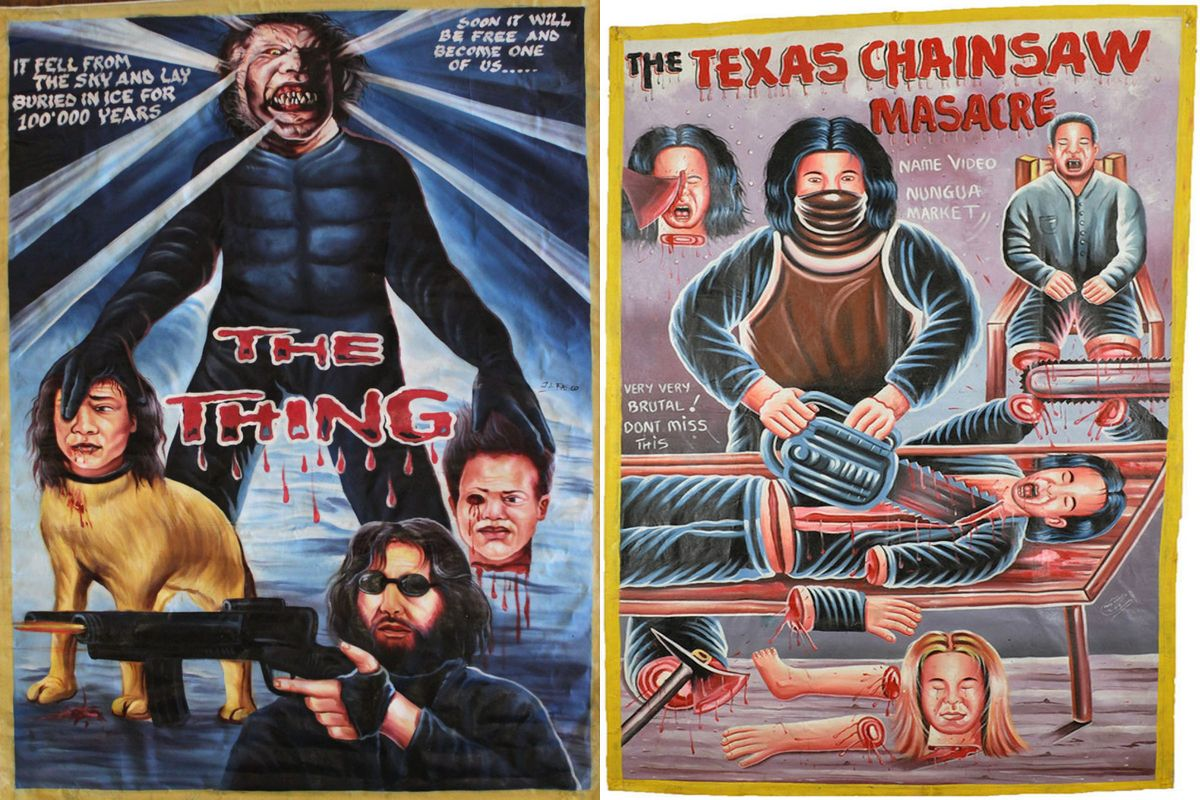 The incredibly bizarre world of ghana s horror movie for 13th floor south africa