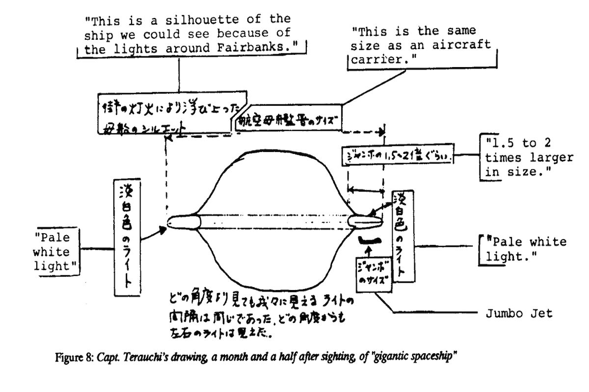 The Five Most Bizarre Airplane Flights In History 13th Floor Ufo Engine Diagram Unlike Story Above There Seems To Be No Rational Explanation For Things That Happened Japan Air Lines Flight 1628 1982 Nearly An Hour