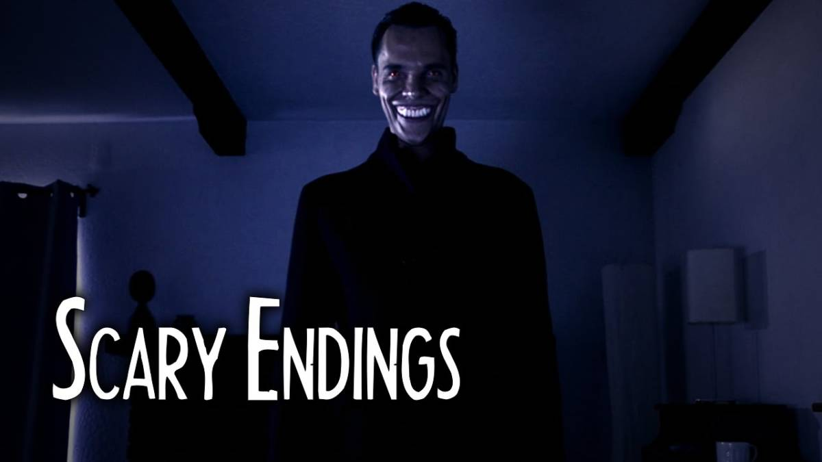 This scary endings short film brings out the grinning man for 13th floor urban legend
