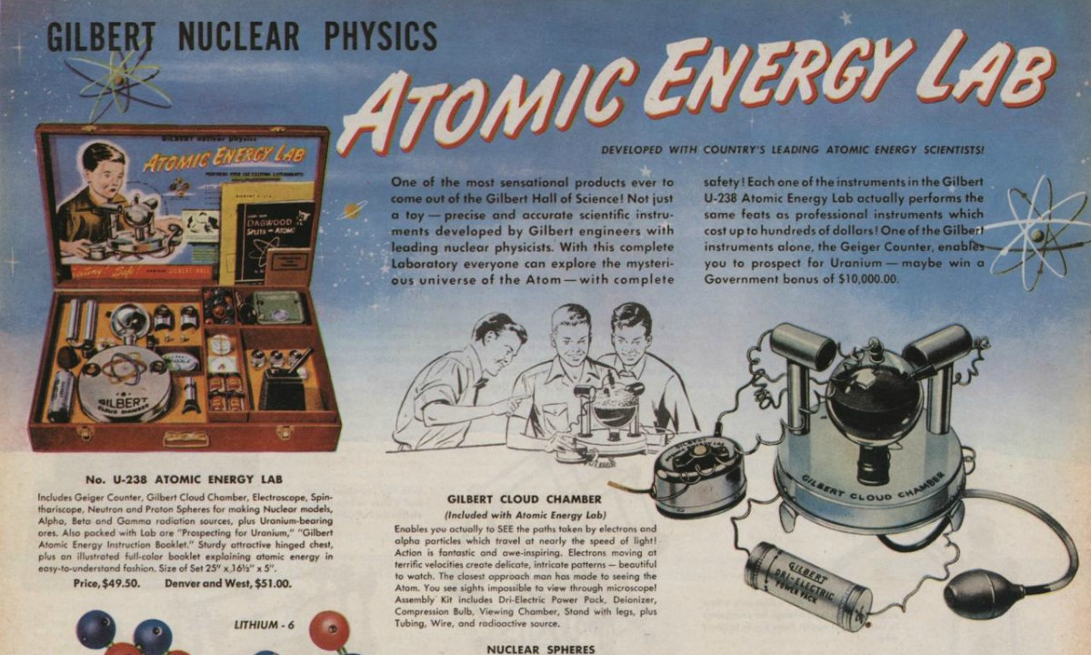 the case of the atomic energy