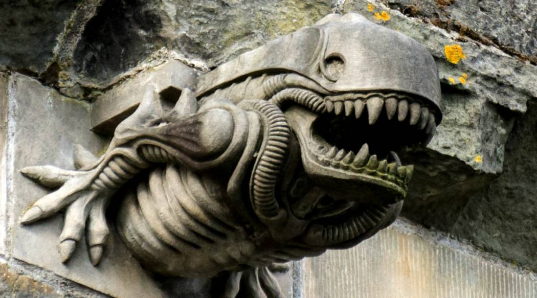 mystery of ancient church s alien gargoyle solved maybe the